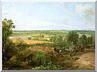 John Constable View Of Dedham stretched canvas art
