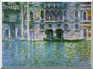 Claude Monet Venice Palazzo Da Mula stretched canvas art