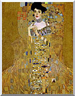 Gustav Klimt Adele Bloch Bauer I Detail stretched canvas art