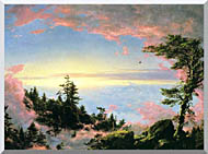 Frederic Edwin Church Above The Clouds At Sunrise stretched canvas art