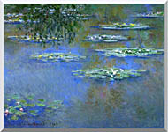 Claude Monet Water Lilies 1903 stretched canvas art