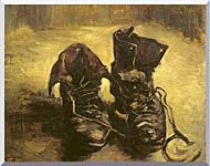 A Pair of Shoes 1886 Stretched Canvas Art