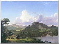 Frederic Edwin Church Home By The Lake stretched canvas art