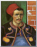 The Zouave Stretched Canvas Art
