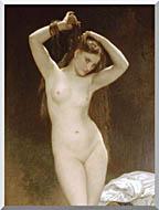 William Bouguereau Bather stretched canvas art
