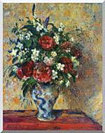 Camille Pissarro Vase Of Flowers stretched canvas art