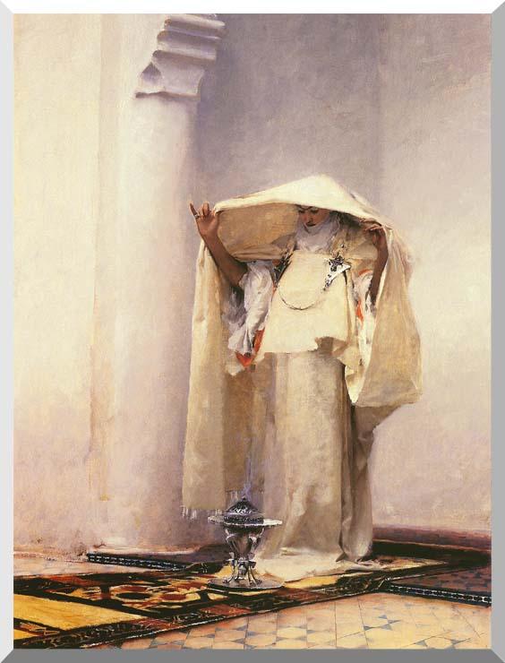 John Singer Sargent Fumee d'Ambre Gris stretched canvas art print