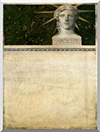 Gustav Klimt Poster Design International Exhibition stretched canvas art