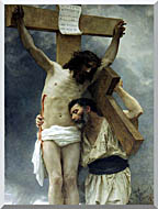 William Bouguereau Compassion stretched canvas art