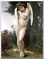 William Bouguereau Cupidon stretched canvas art