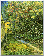 Vincent Van Gogh The Garden Of Saint Paul Hospital stretched canvas art