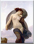 William Bouguereau Evening Mood stretched canvas art