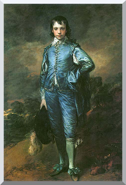 Thomas Gainsborough The Blue Boy stretched canvas art print