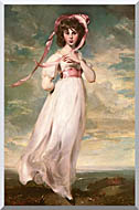 Thomas Lawrence Pinkie stretched canvas art