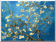 Vincent Van Gogh Almond Blossom Detail stretched canvas art