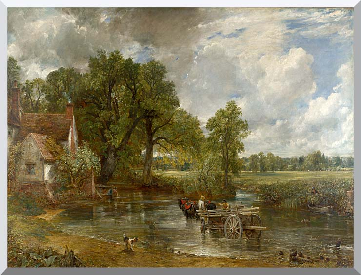 John Constable The Hay Wain stretched canvas art print