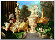 Meiffren Conte Still Life With Precious Vessels stretched canvas art