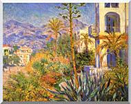 Claude Monet Villas At Bordighera stretched canvas art