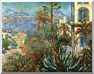 Claude Monet The Villas At Bordighera stretched canvas art