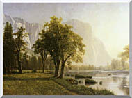 Albert Bierstadt El Capitan Yosemite Valley California stretched canvas art