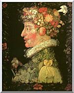 Giuseppe Arcimboldo Spring stretched canvas art