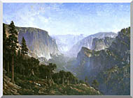 Thomas Hill Yosemite Valley stretched canvas art