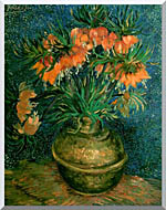 Vincent Van Gogh Fritillaries In A Copper Vase stretched canvas art