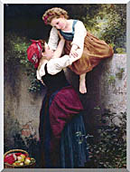 William Bouguereau Little Marauders stretched canvas art