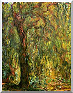 Claude Monet Weeping Willow 1919 Detail stretched canvas art
