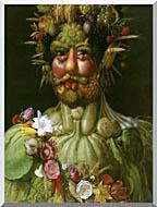 Giuseppe Arcimboldo Vertumnus stretched canvas art