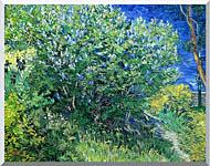 Vincent Van Gogh Lilacs stretched canvas art