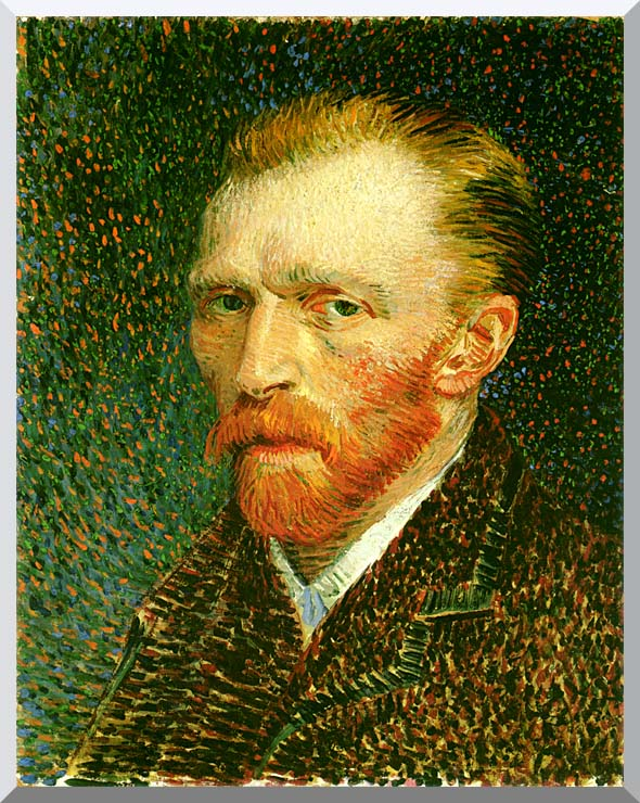 Vincent van Gogh Self Portrait stretched canvas art print