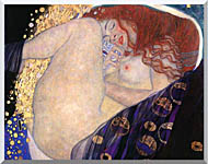 Gustav Klimt Danae Detail stretched canvas art