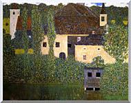 Gustav Klimt Schloss Kammer On The Attersee I Detail stretched canvas art