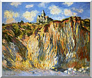 Claude Monet The Church At Varengeville Morning Effect stretched canvas art