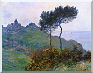 Claude Monet The Church At Varengeville Grey Weather stretched canvas art