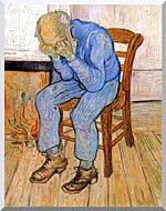 Vincent Van Gogh Old Man In Sorrow stretched canvas art