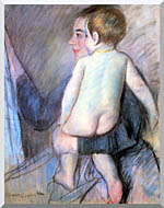 Mary Cassatt At The Window stretched canvas art