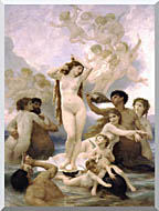 William Bouguereau The Birth Of Venus stretched canvas art