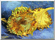 Vincent Van Gogh Two Sunflowers stretched canvas art