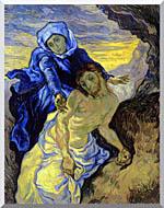 Vincent Van Gogh Pieta stretched canvas art