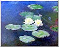 Claude Monet Nympheas Effet Du Soir stretched canvas art