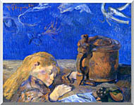 Paul Gauguin Sleeping Child stretched canvas art