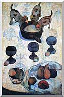 Paul Gauguin Still Life With Three Puppies stretched canvas art