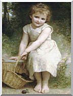 William Bouguereau Plums stretched canvas art