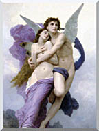 William Bouguereau The Abduction Of Psyche stretched canvas art