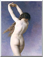 William Bouguereau The Lost Pleiad Detail stretched canvas art