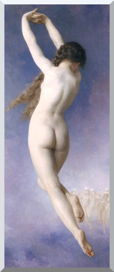 William Bouguereau The Lost Pleiad stretched canvas art print