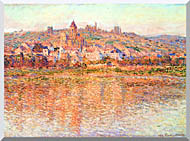 Vetheuil in Summertime Stretched Canvas Art