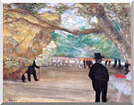 Edgar Degas The Curtain stretched canvas art